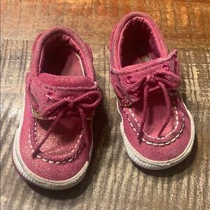 Sperry infant girls shoes size 4